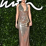 Rosie Huntington-Whitley at the British Fashion Awards 2019