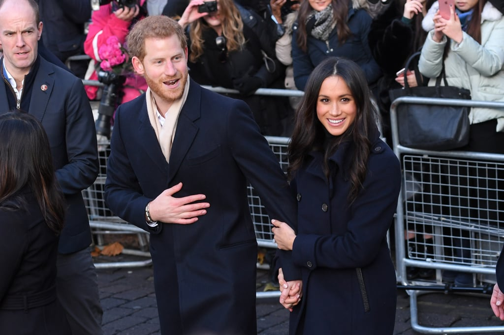Prince Harry and Meghan Markle Step Out For Their First Royal Engagement