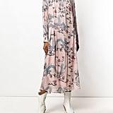 Isabel Marant Dragon Print Shift Dress