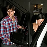 Ashton Kutcher and Mila Kunis were together.