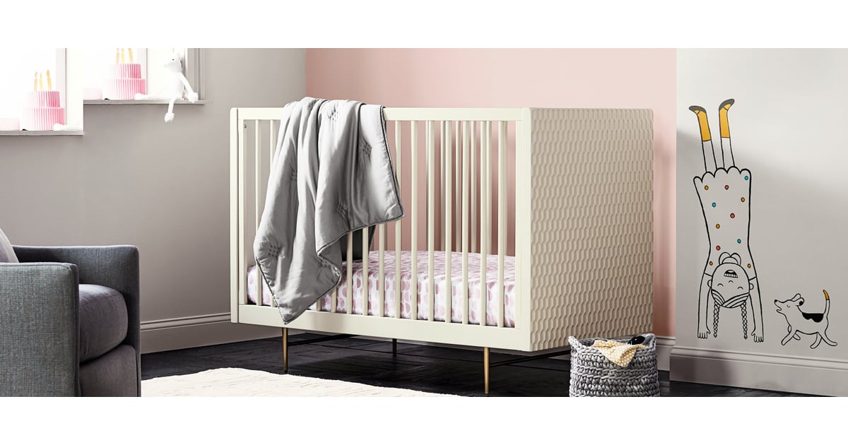 west elm and pottery barn kids nursery collection may 2018. Black Bedroom Furniture Sets. Home Design Ideas