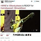 Last week, WWE posted a GIF of Stardust shooting an imaginary arrow.