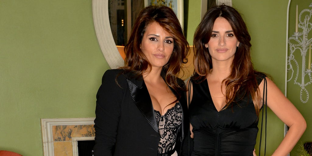 Penelope and Monica Cruz at Agent Provocateur Dinner