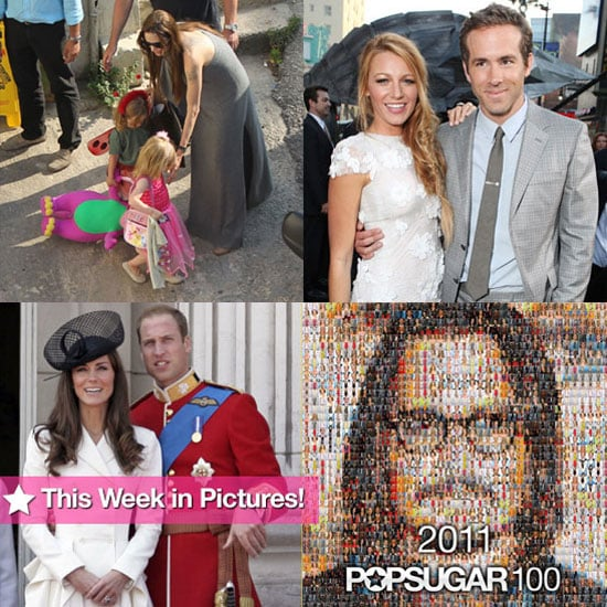 Johnny Tops the PopSugar 100, Brad and Angelina in Malta, William and Kate's Royal Duties, and More in This Week in Pictures!