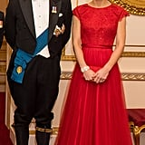 Kate Middleton and Prince William Diplomatic Corps 2016