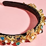 Jeweled Velvet Headband ($28)