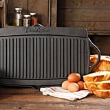The Pioneer Woman Timeless Cast Iron Pre-Seasoned Reversible Grill/Griddle, Black ($30)