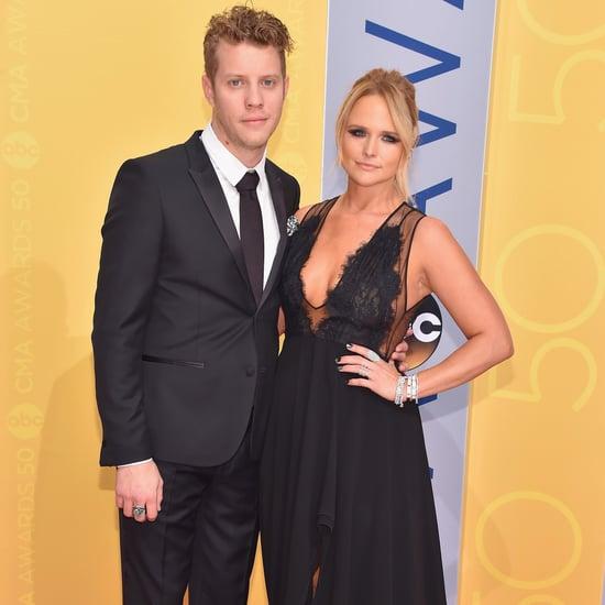 Miranda Lambert and Anderson East at the CMA Awards 2016