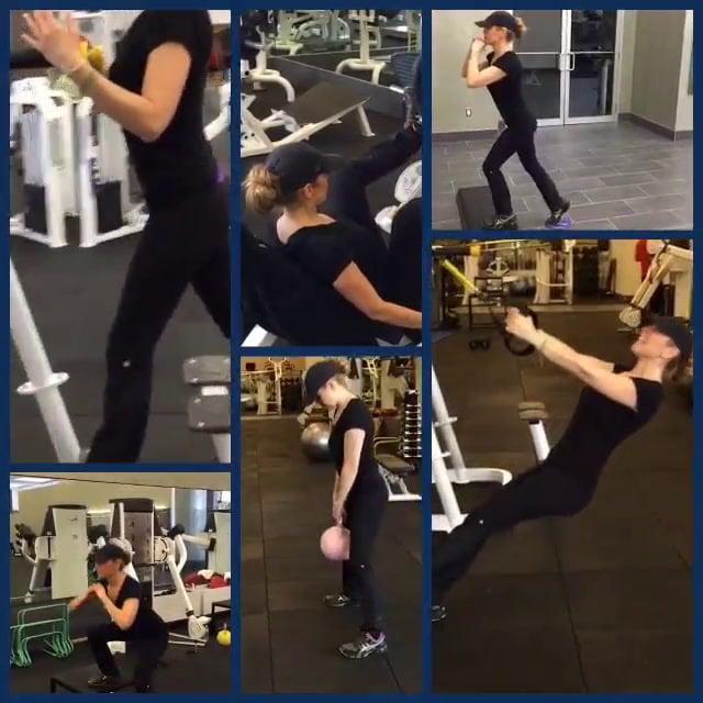 Thalias Fitness Routine