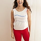 Pictured: Unapologetically Me Tank ($29.95) and Be Present Leggings ($49.95)
