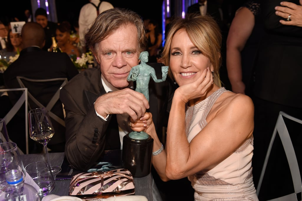 Pictured: Felicity Huffman and William H. Macy