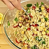 Couscous Salad With Chickpeas, Tomatoes, and Mint