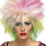 Smiffy's Multicolour Short and Spiky '80s Wig