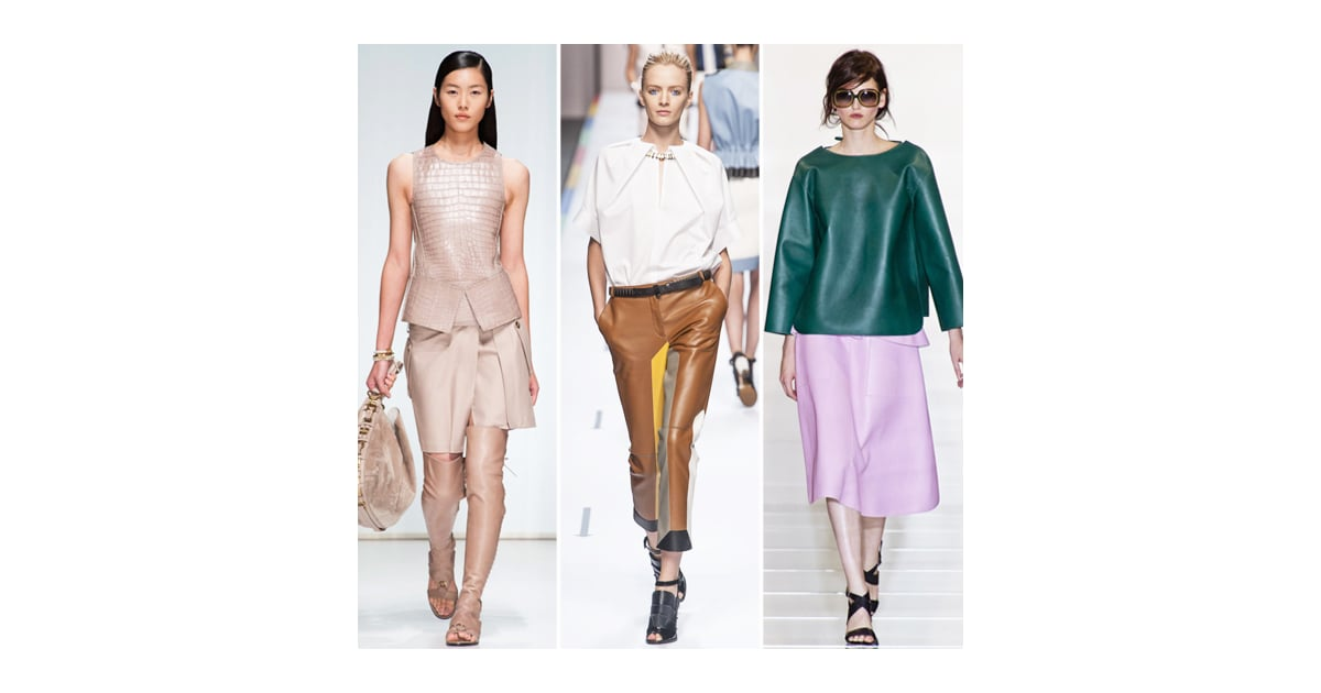 Spring Leather | Best Fashion Trends For 2013