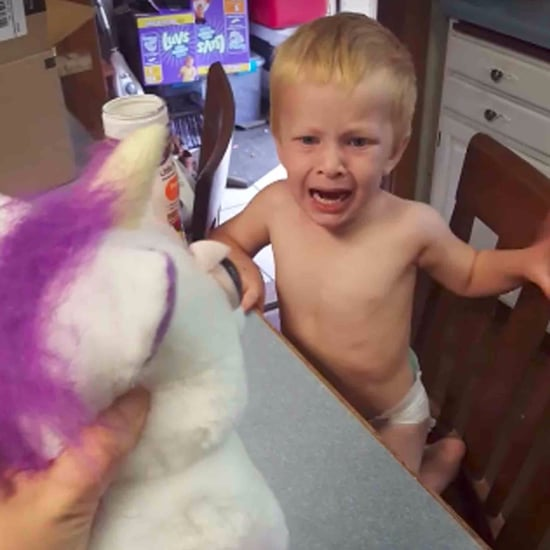 Creepy Unicorn Toy Scares Little Boy
