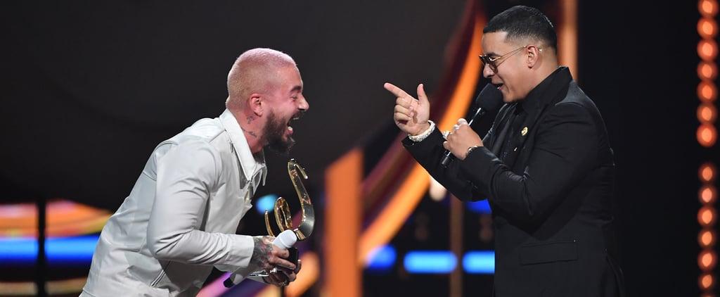 J Balvin Wins Global Icon Award at Premio Lo Nuestro