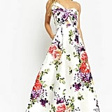 Forever 21 Floral High-Low Gown