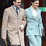 Princess Victoria Green Rodebjer Suit
