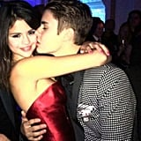 Justin Bieber and Selena Gomez got close during his 18th birthday party in March.