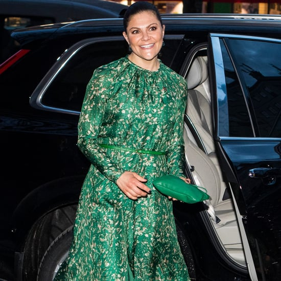 Crown Princess Victoria Wearing H&M Conscious Dress