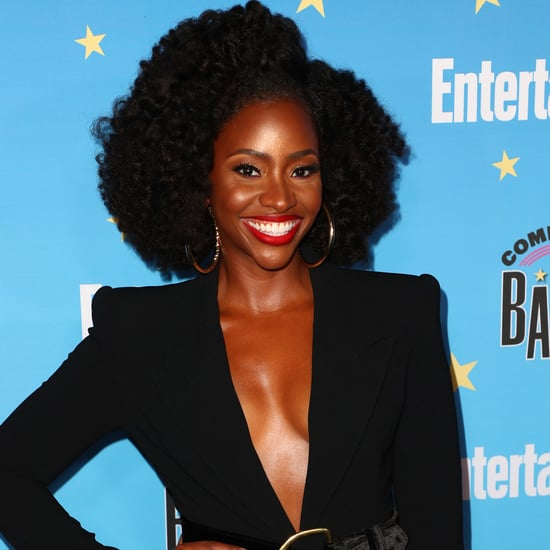 See How WandaVision's Teyonah Parris Works Out at Home