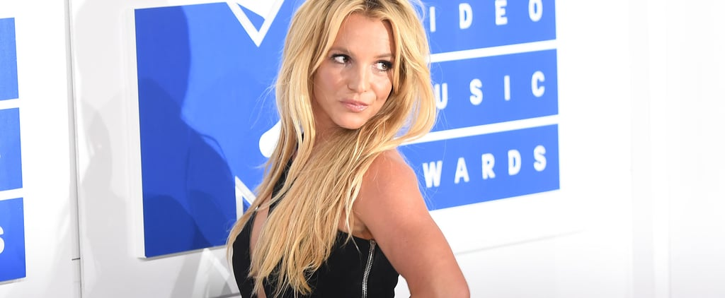 Britney Spears's New Brown Hair Color