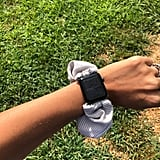 Houndstooth Scrunchie Watch Band