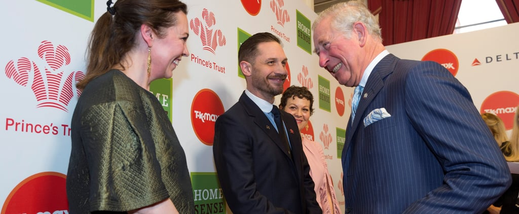 Tom Hardy Mingles With Royalty (Again!) During His First Appearance in Almost a Year