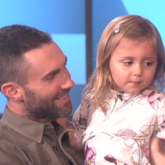 Adam Levine Meets a Young Fan on The Ellen Show | Video