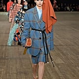 She Walked the Marc Jacobs Show in a Turban and Blazer Set