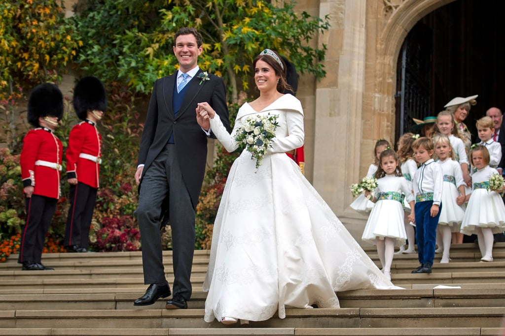 c90f4cc7 Princess Eugenie Wedding Shoes | POPSUGAR Fashion Australia