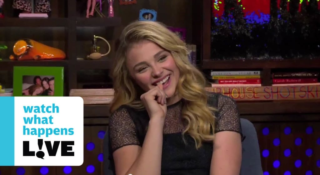 September 2014: Chloë Shrugs Off the Rumors
