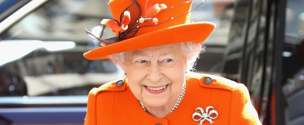 Would Ma'am Like Another Fanta? Queen Elizabeth II Brings a Spot of Sunshine to a Cold Day