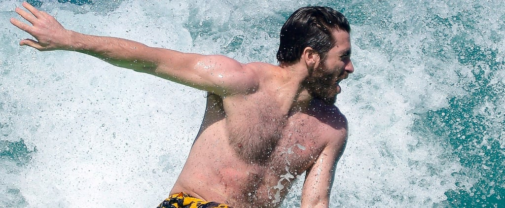 These Photos of Jake Gyllenhaal Surfing in St. Barts Are Oddly Fascinating