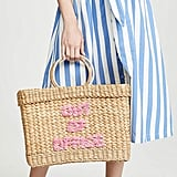 "Poolside Bags Lizzy ""Out Of Office"" Fringe Tote"