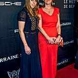Princess Beatrice Posed With Her Mum, Duchess of York Sarah Ferguson, Wearing a Tommy Hilfiger Dress