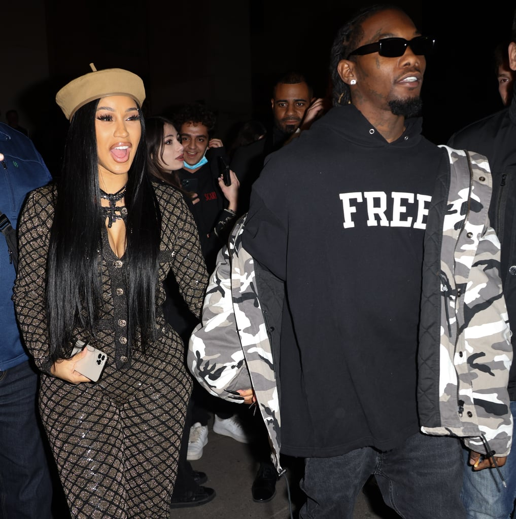 See Every Wild Outfit Cardi B Wore at Paris Fashion Week