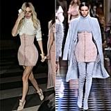 Kendall Jenner Wearing Balmain Fall '16