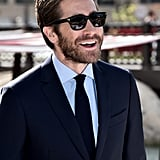 Jake looked hot in his shades while attending the Dubai Film Festival in December 2015.
