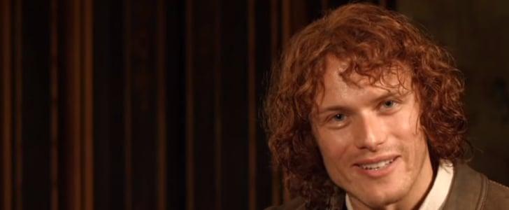 Sam Heughan Announcing Outlander Season 1 Ultimate DVD