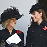 "Camilla: ""Do you think Harry would prefer cufflinks or these Spearmint Rhino vouchers for his birthday?"""