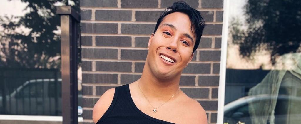 Makeup Artist Gabe Adams-Wheatley on His TikTok Success