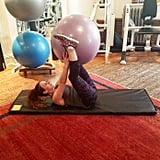"""Why it's effective: """"This is one of my favorite signature ab exercises. It really blasts your abs from every angle."""""""