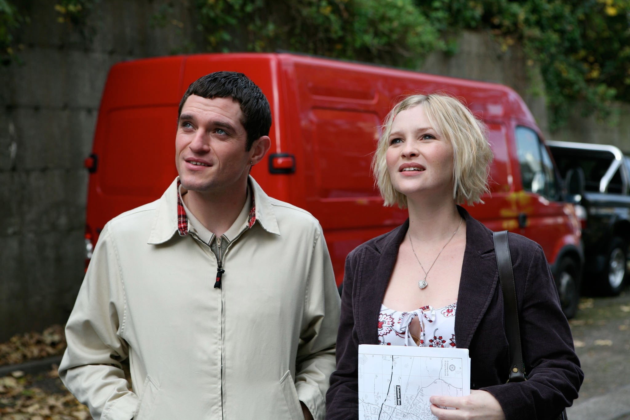 GAVIN AND STACEY, (from left): Mathew Horne, Joanna Page, (Season 2, 2008), 2007-10. BBC / Courtesy: Everett Collection