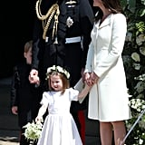 When They Had a Cute Family Moment at the Royal Wedding