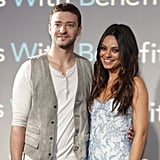 Friends With Benefits stars Justin Timberlake and Mila Kunis.