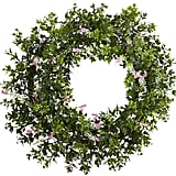 Ivy & Floral Wreath ($58)