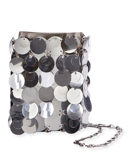 Paco Rabanne Sparkle Mini Iconic Shoulder Bag