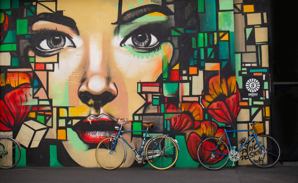 Tour the street art in your city.