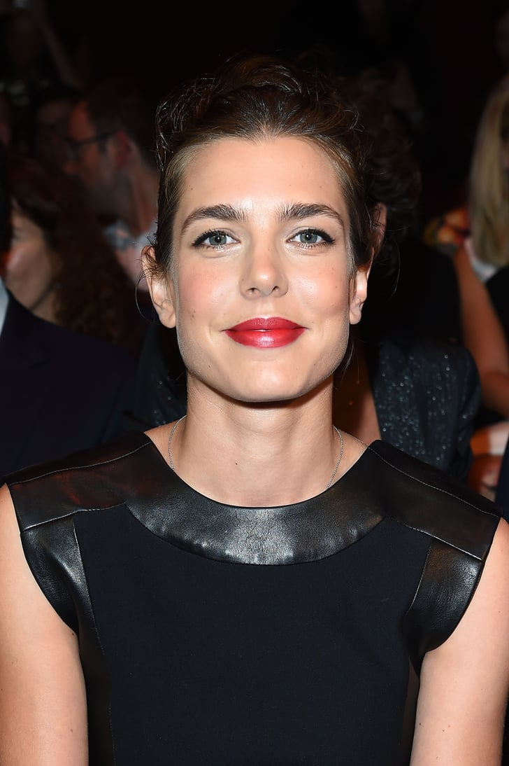 Charlotte Casiraghi For Gucci Cosmetics Celebrity Beauty